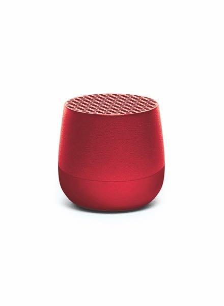 Lexon LEXON MINO Speaker Metal Red
