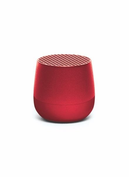 Lexon MINO Speaker Metal Red