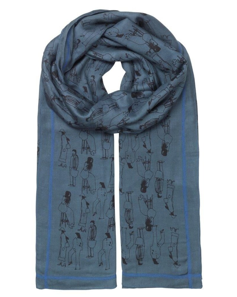 Unmade SCARF Diona Navy Blue