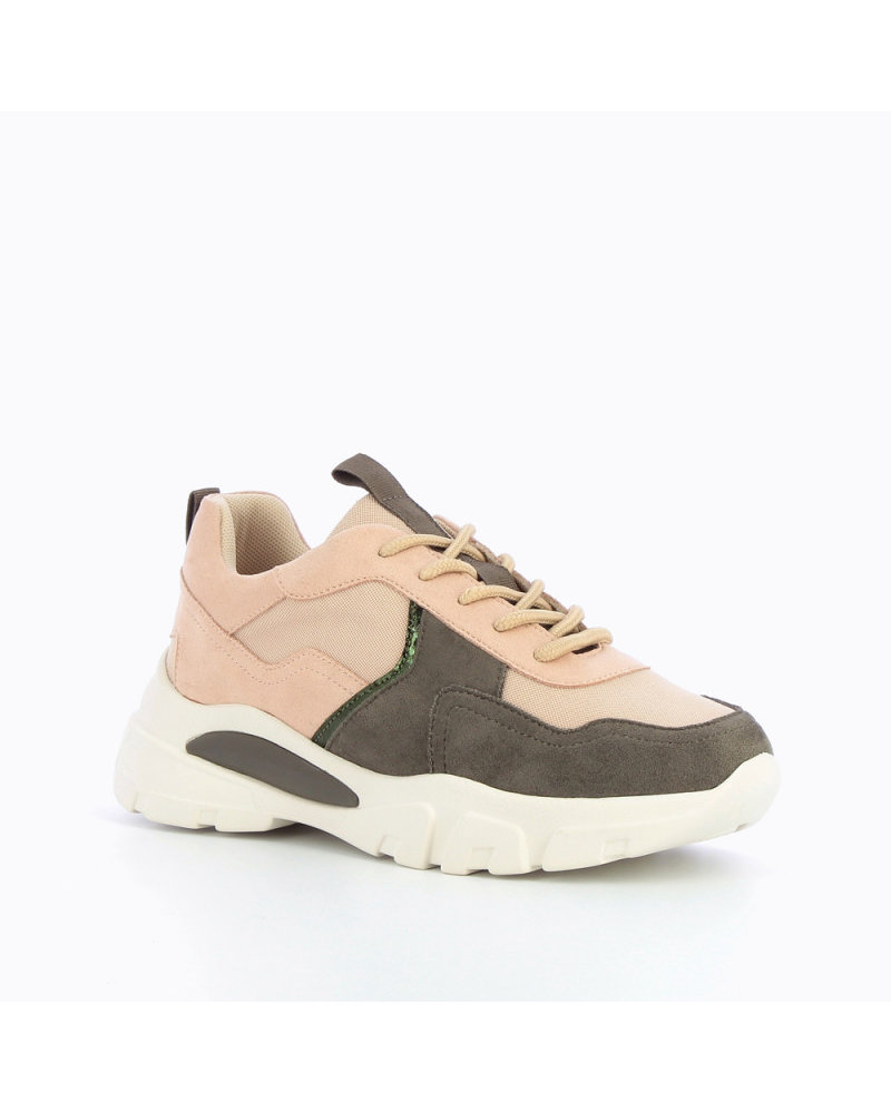 Sneaker Kaki poudre