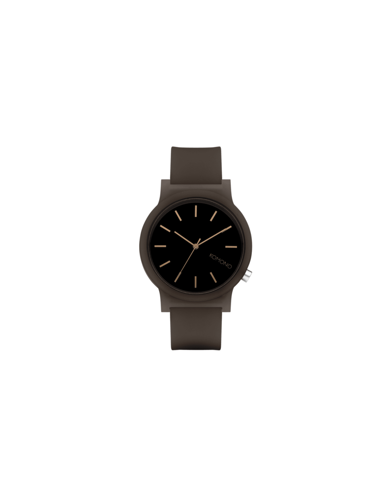 KOMONO KOMONO Rubber Watch Mono