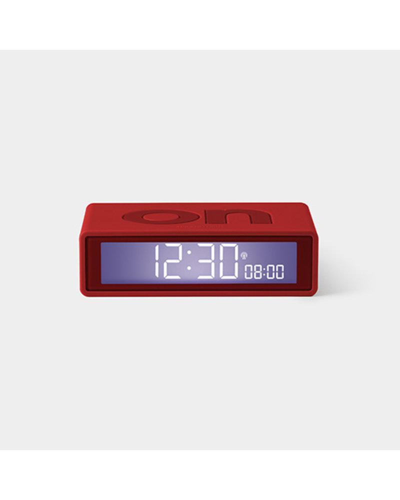 Lexon LEXON FLIP Clock Red