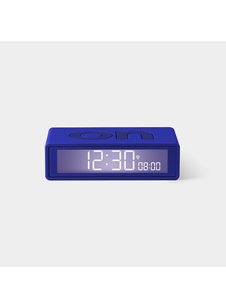 Lexon FLIP Clock Trendy Blue