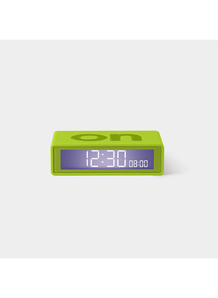 Lexon FLIP Clock Trendy Green
