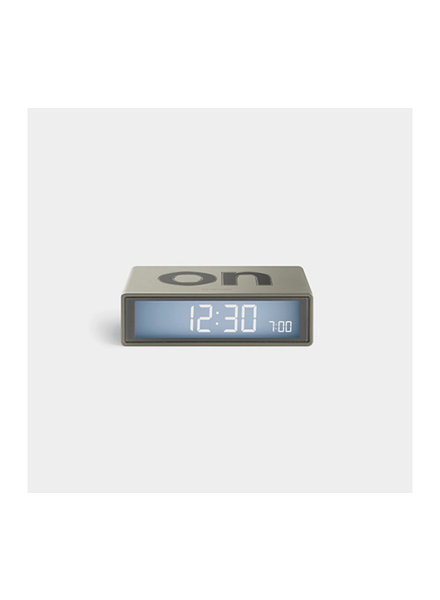 Lexon LEXON FLIP Clock Metal Gold