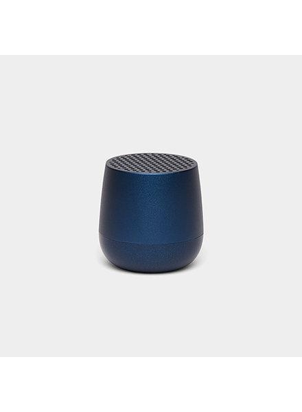 Lexon MINO Speaker Metal Petrol Blue