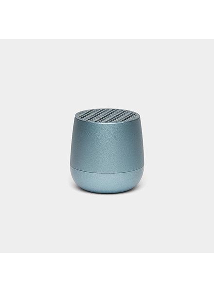 Lexon Speaker Metal Light Blue