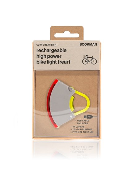 BOOKMAN Curve rear Light gray/yellow