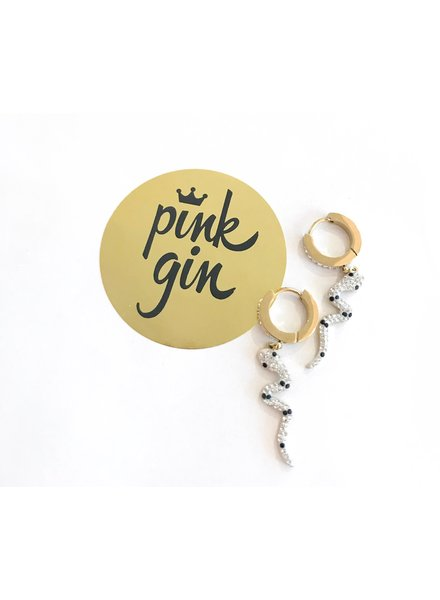 PINK GIN Selection EARRINGS SAHERA
