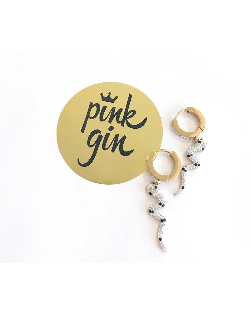 PINK GIN Selection EARRINGS SAHERA