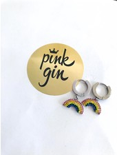 PINK GIN Selection EARRINGS RAINBOW