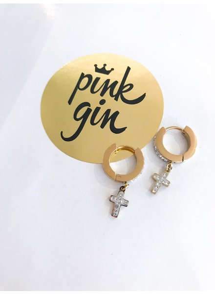 PINK GIN Selection EARRINGS CRUSIS