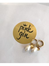 PINK GIN Selection EARRINGS PEARL