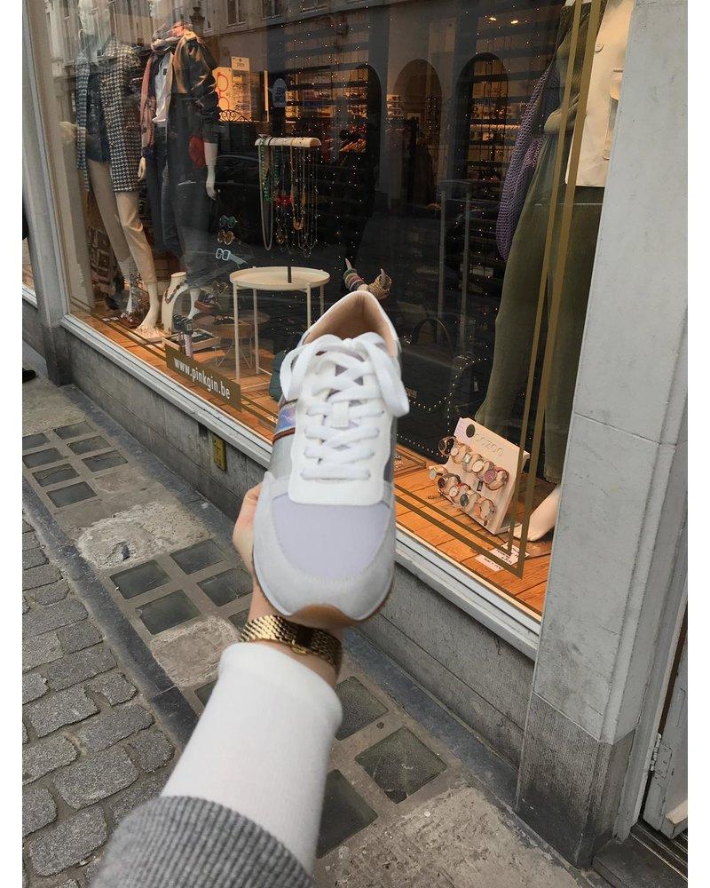 Vanessa Wu Sneaker Silver Crush BK 2077