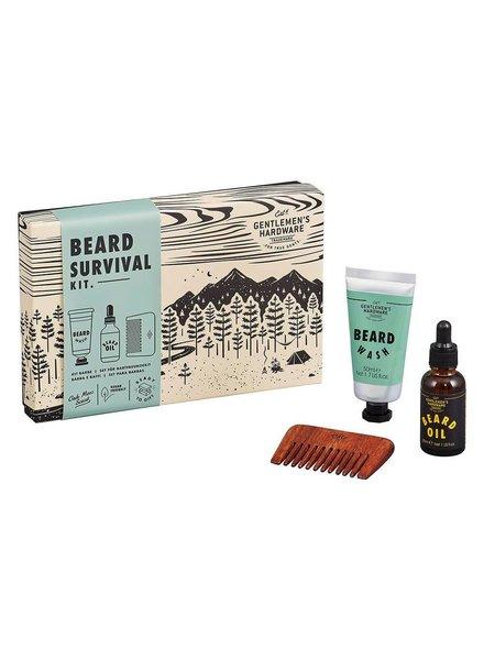 Gentlemen's Hardware GHW Beard servival kit