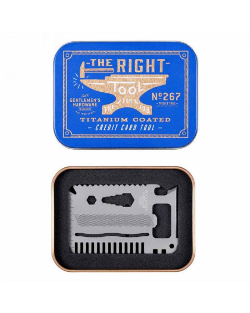 Gentlemen's Hardware GHW Credit Card Tool