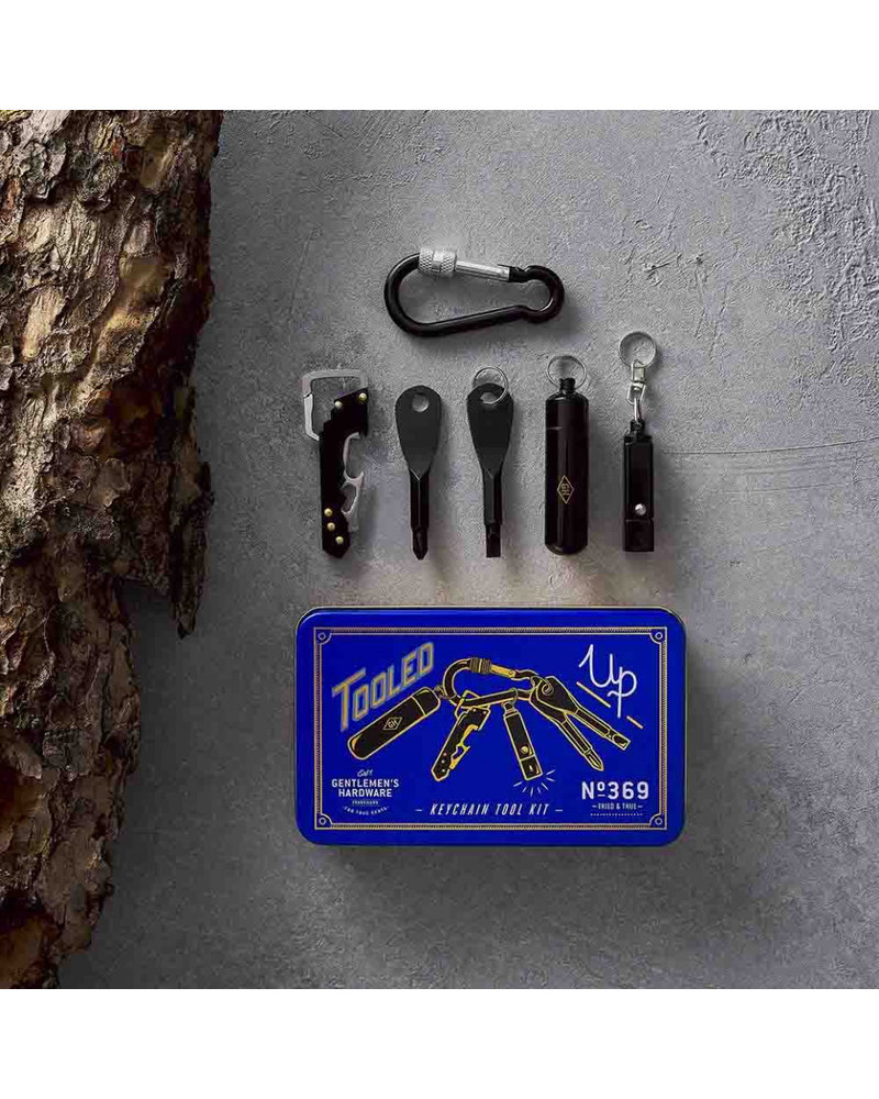 Gentlemen's Hardware GHW Keychain Tool Kit - TOOLED UP