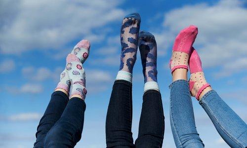 Trendy Fashion Socks!
