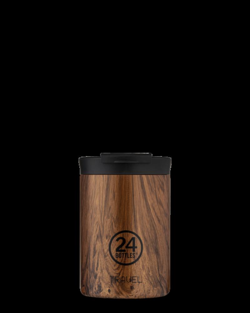 24 Bottles 24 Bottles TRAVEL TUMBLER Sequoia Wood