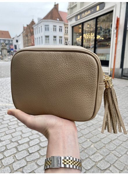PINK GIN Selection Sac Lucy Taupe Claire (leather)