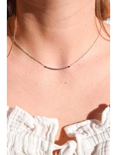 PINK GIN Selection NECKLACE Mila Silver