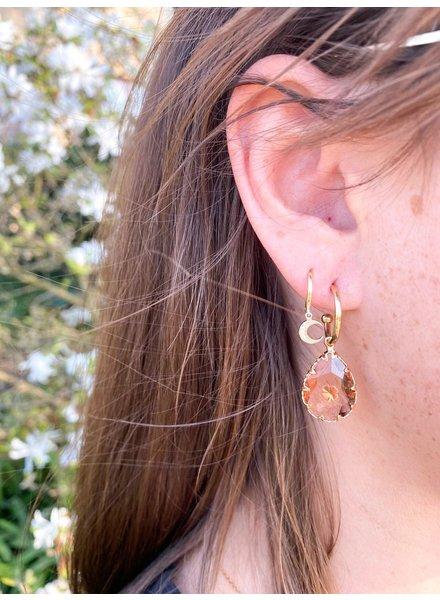 PINK GIN Selection EARRINGS Eef