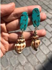 PINK GIN Selection EARRING Seashell