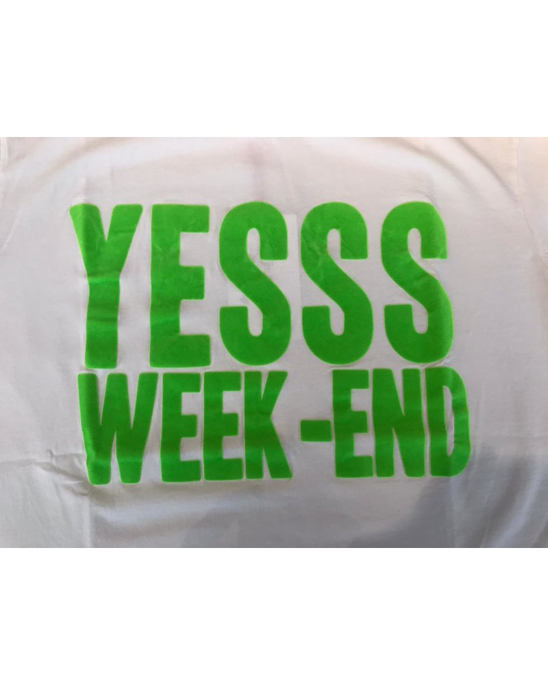French dude FD T-shirt YES-WEEKEND