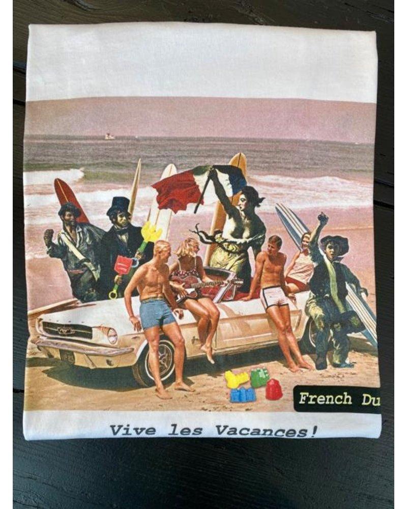 French dude FD T-shirt VIVE LES VACANCES