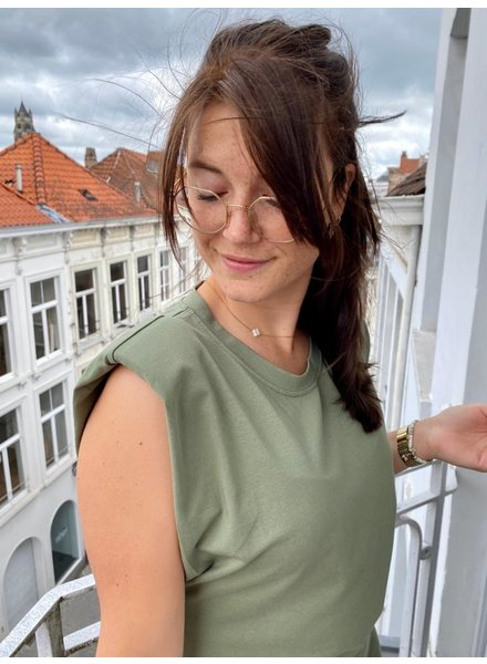 PINK GIN Selection Paddet T-shirt Dress YOLANDE