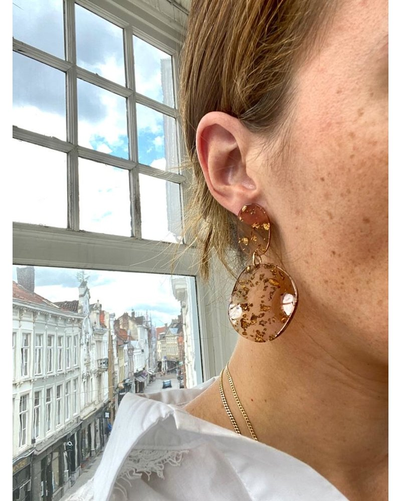PINK GIN Selection EARRINGS Ruby