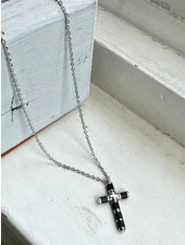 PINK GIN Selection NECKLACE Cross