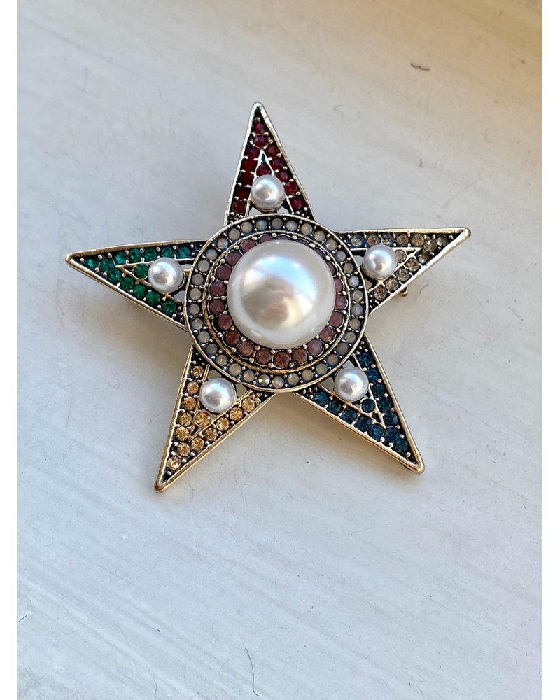 PINK GIN Selection BROCHE Starsky