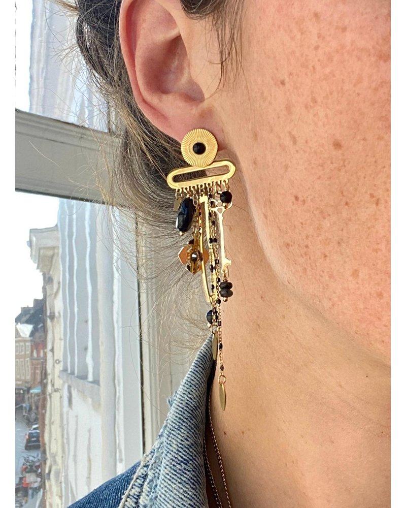 PINK GIN Selection EARRINGS Fleur