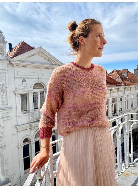 IMPREVU Maille Tie & Dye Pink