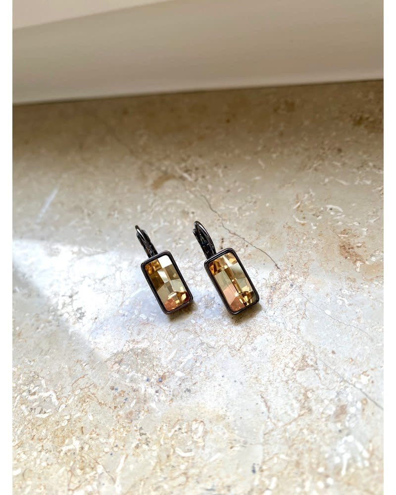 PINK GIN Selection EARRINGS Swarovski BOBBI