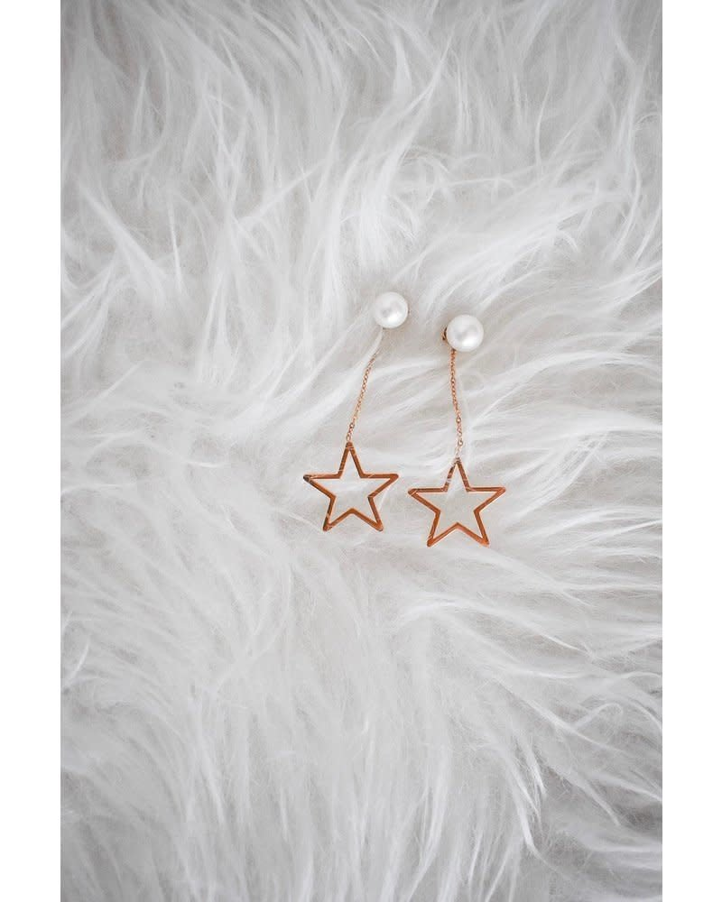 PINK GIN Selection EARRINGS Star