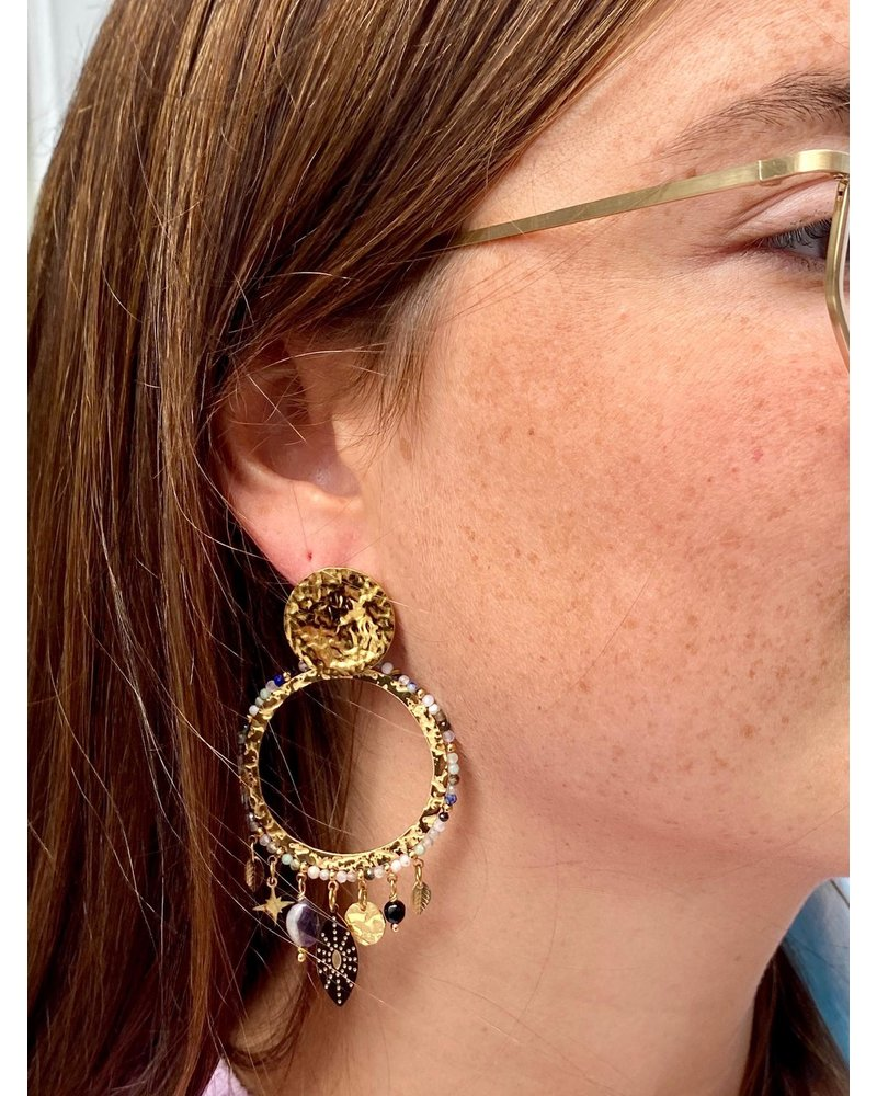 PINK GIN Selection EARRINGS Demy