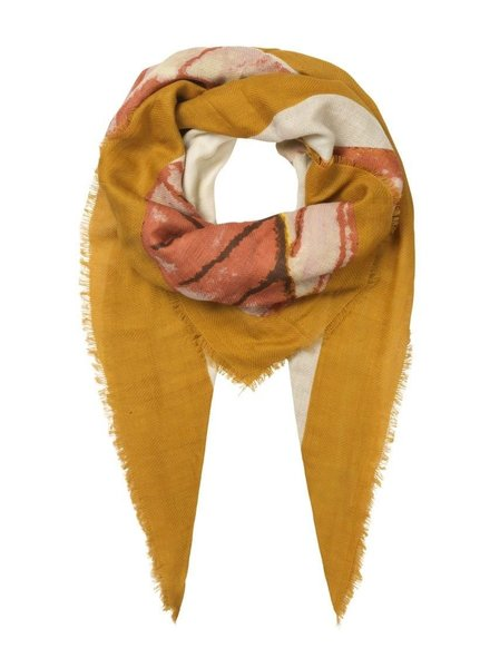 Unmade Imone Scarf Bronze Brown