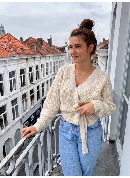 PINK GIN Selection Gilet Josie Beige TU