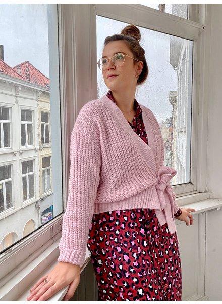 PINK GIN Selection Gilet Josie Soft Pink TU