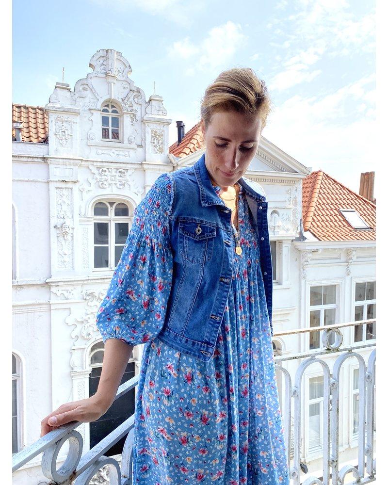 PINK GIN Selection Veste Bardot Jeans