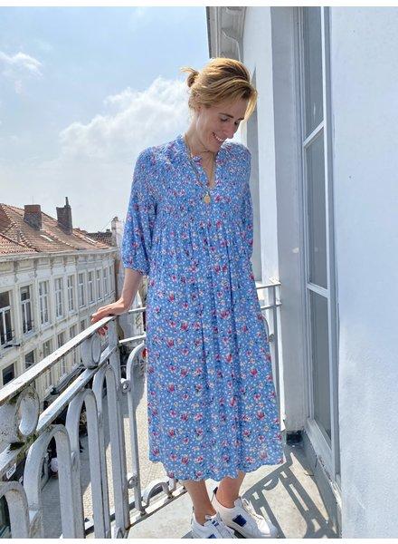 PINK GIN Selection Dress Alexine Licht Blauw TU