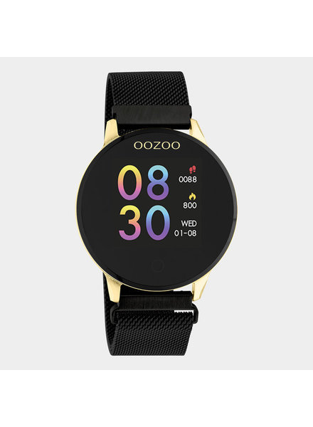 OOZOO Smartwatch   (goud/zwart)