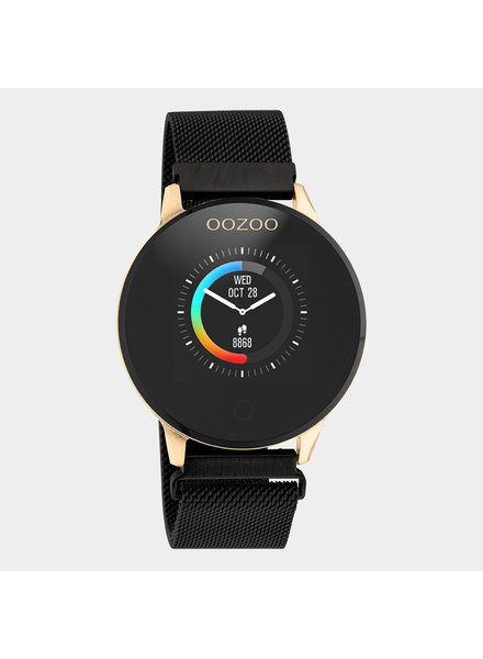 OOZOO Smartwatch   (rosé goud/zwart)