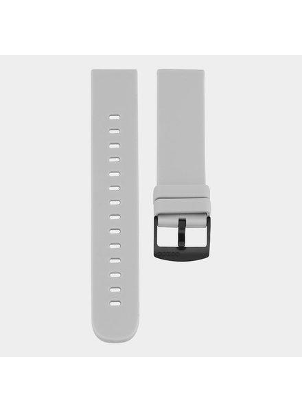 OOZOO smartwatch straps  - Stone grey/black