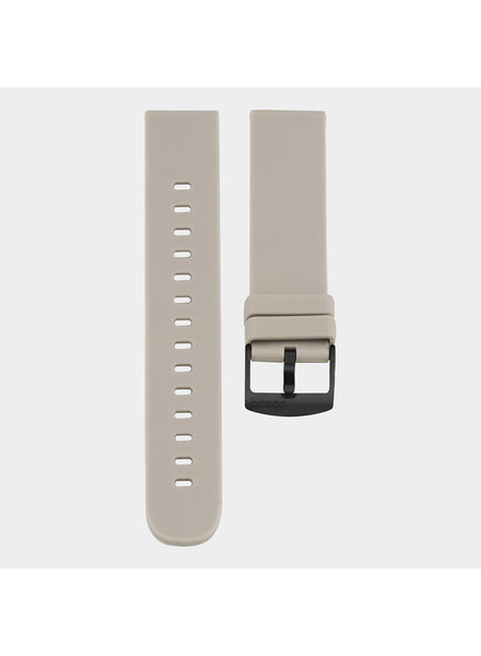 OOZOO smartwatch straps - taupe/black