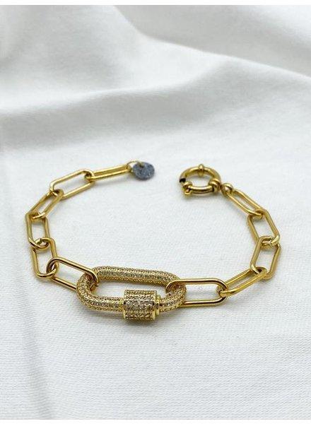 Studio Me.Mo. Bracelet Louise Gold