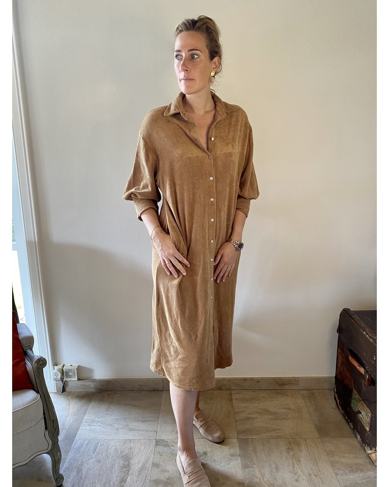 PINK GIN Selection FW21/22 Dress Epony CAMEL