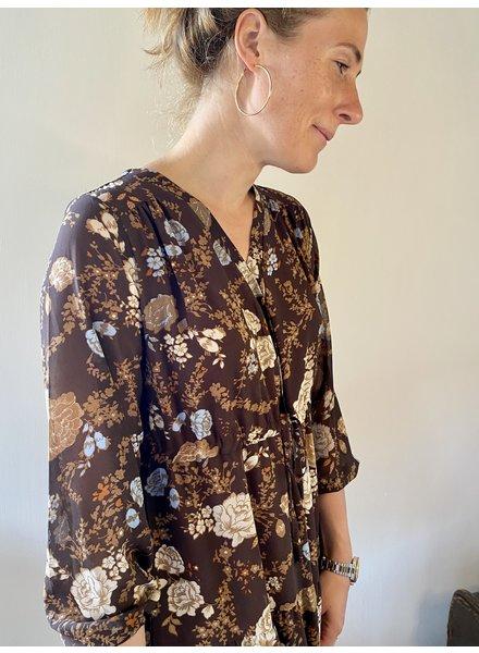 PINK GIN Selection FW21/22 Dress Nora BROWN